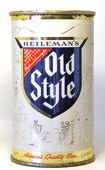 Old Style Beer  Flat Top Beer Can