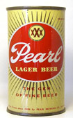 Pearl Beer  Flat Top Beer Can