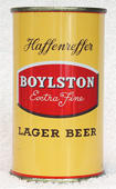 Boylston Beer  Flat Top Beer Can