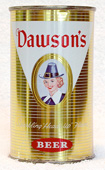 Dawsons Beer  Flat Top Beer Can