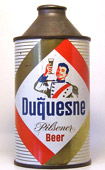 Duquesne Beer  High Profile Cone Top Beer Can