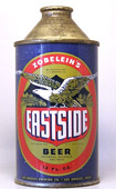 Eastside Beer  High Profile Cone Top Beer Can
