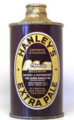 Hanleys Ale  J Spout Cone Top Beer Can