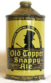 Old Topper Ale  Quart Cone Top Beer Can