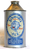 Schmidt Ale  High Profile Cone Top Beer Can
