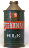 Spearman Ale  High Profile Cone Top Beer Can