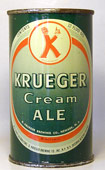 Krueger Ale  Flat Top Beer Can