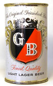 Griesedieck Bros. Beer  Flat Top Beer Can