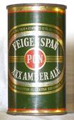 Feigenspan Ale  Flat Top Beer Can