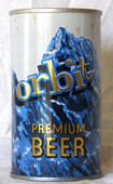 Orbit Beer  Tab Top Beer Can
