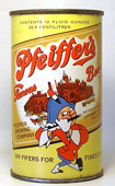 Pfeiffer Beer  Flat Top Beer Can