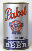 Pabst Beer  Flat Top Beer Can