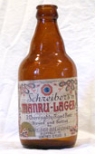 Manru Beer   Bottle (Steinie) 
