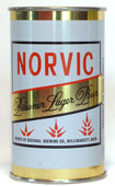 Norvic Beer  Tab Top Beer Can