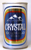 Crystal Beer  Tab Top Beer Can