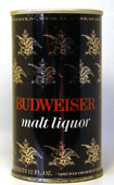 Budweiser Malt Liquor  Tab Top Beer Can