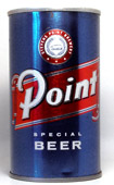 Point Beer  Tab Top Beer Can
