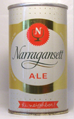 Narragansett Ale  Zip Top Beer Can
