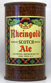 Rheingold Ale  Flat Top Beer Can