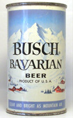 Busch Beer  Flat Top Beer Can