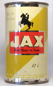 Jax Beer  Flat Top Beer Can