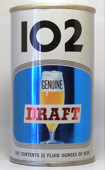102 Draft  Tab Top Beer Can