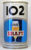 102 Draft  Tab Top Beer Can