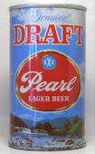 Pearl Draft  Tab Top Beer Can