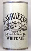 Whales White Ale  Tab Top Beer Can