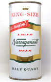 Narragansett Beer  Flat Top Beer Can
