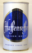 Haffenreffer Beer  Tab Top Beer Can