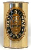 Ballantine Beer  Flat Top Beer Can