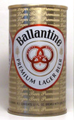 Ballantine Beer  Tab Top Beer Can
