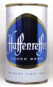 Haffenreffer Beer  Flat Top Beer Can