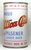 Utica Club Beer  Flat Top Beer Can