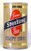 Sterling Draft  Tab Top Beer Can