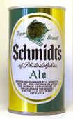 Schmidts Ale  Tab Top Beer Can