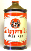 Fitzgerald Pale Ale  Quart Cone Top Beer Can