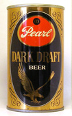 Pearl Dark Draft  Tab Top Beer Can