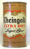 Rheingold Beer  Flat Top Beer Can