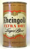 Rheingold Beer  Flat Top Beer Can