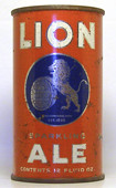 Lion Ale  Flat Top Beer Can
