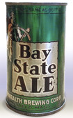 Bay State Ale  Flat Top Beer Can